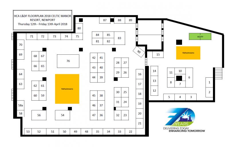 D Exhibition Floor Plan : Exhibition floor plan hca forum